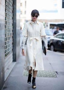 قميص فستان/بذلة مع حزام