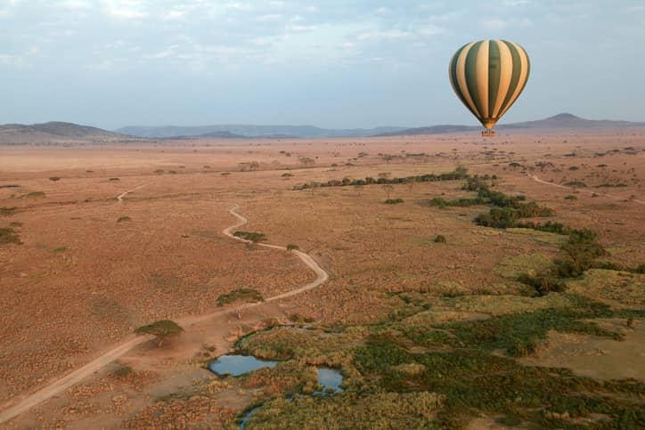 Serengeti National Park hot air balloon