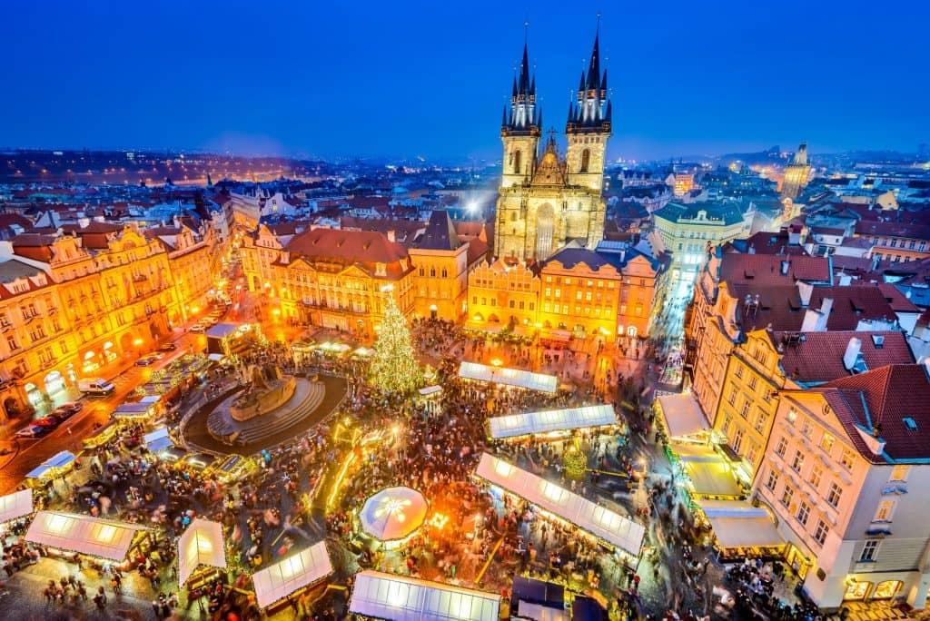 Prauge Christmas Market